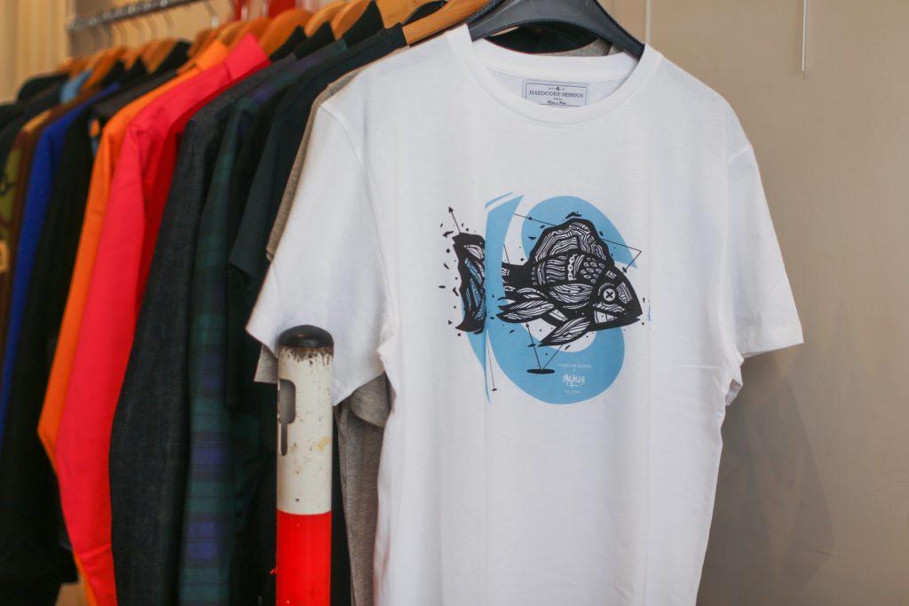 tee shirt moyoshi streetart hardcore